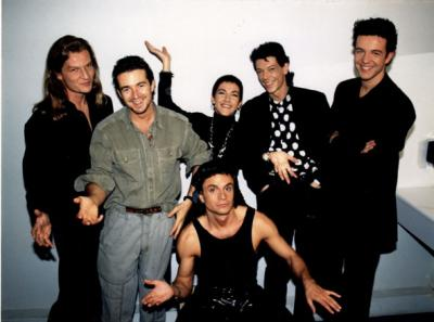 PSY with Mecano 1991