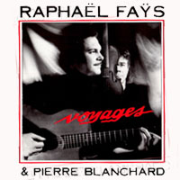 CD cover of Voyages by Raphaël Fays